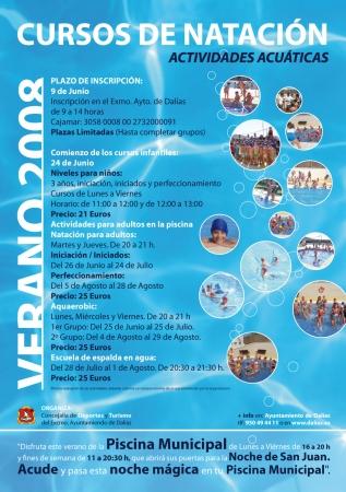 El ayuntamiento organiza un a o mas los cursos de nataci n for Clases de piscina para ninos